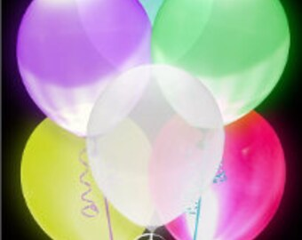 Multicolor led for balloons, festive decoration, lighting, wedding decorations, communion, baby shower, for each type of event