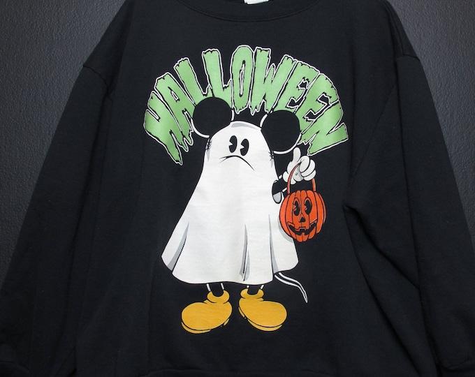 Mickey Ghost Halloween vintage Sweatshirt