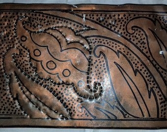 Copper Printed Plates, 4 in this lot