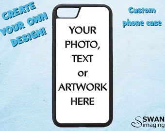 Custom iPhone Case - TPU + PC Case - iPhone 5/5S, iPhone SE, iPhone 6/6S, iPhone 6/6S Plus, iPhone 7, iPhone 7 Plus, iPhone 8, iPhone 8 Plus