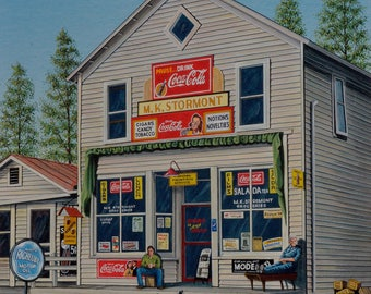 Memories from the Past, vintage country store