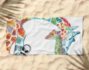 Personnalisé serviette de plage / serviette de piscine sur mesure ...