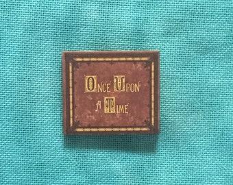 Fairy Tale Book Wooden Needle Minder