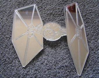 3 Mirror TIE Fighters 2x 10cm and 1x 15cm