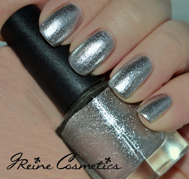 Metallic Nail Polish Silver: Cleopatras Chrome True Silver Chrome Metallic Nail Polish