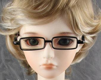 New fashion Black Full-Rim Dolls Glasses fit 1/3 BJD SD Super Dollfie