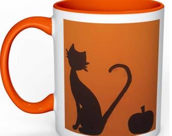 Pumpkin Cat Mug