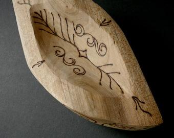 Cherry Plum Rune Bowl for Assuredness