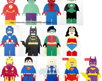Brick Superhero Party Decorations