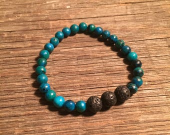 Essential Oil Diffuser Bracelet with Essential Oil sample, Aromatherapy, Yoga