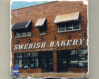 Swedish Bakery in Andersonville -  Original Coaster