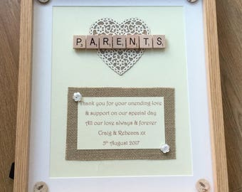 Wedding gift parents | Etsy