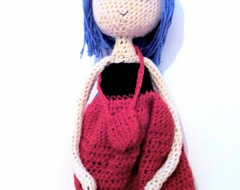 Handmade Art Dolls-Crochet-Amigurumi doll-gift idea original Unique