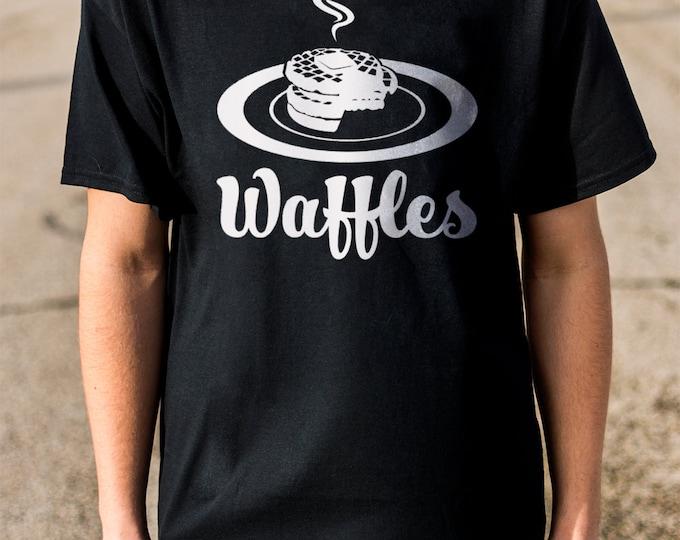 Waffles 100% Soft Cotton Food Shirt