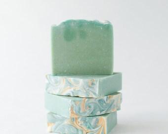 Eucalyptus Mint Goats Milk Artisan Bath & Body Bar Soap