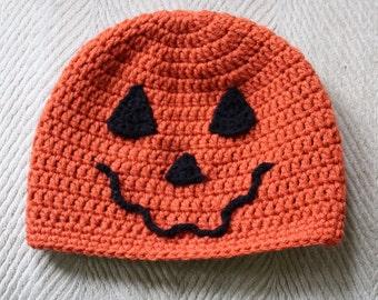 Jack-O-Lantern Halloween Hat