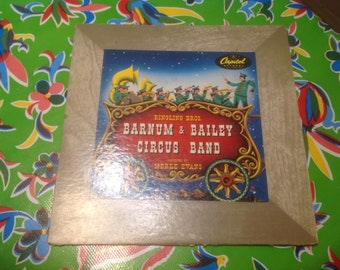 Vintage Ringling Brothers and Barnum and Bailey Circus Band record album- Capitol Records