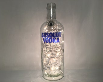 Absolut Vodka Bottle Lamp