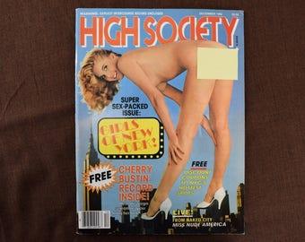 High Society Magazine from December 1982