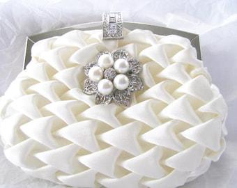 Wedding Clutches, Bridal Clutch, Bridesmaids Clutch, Prom Clutch, Evening Clutch, Formal Clutch, Party Clutches, Accessories, Satin Clutch,