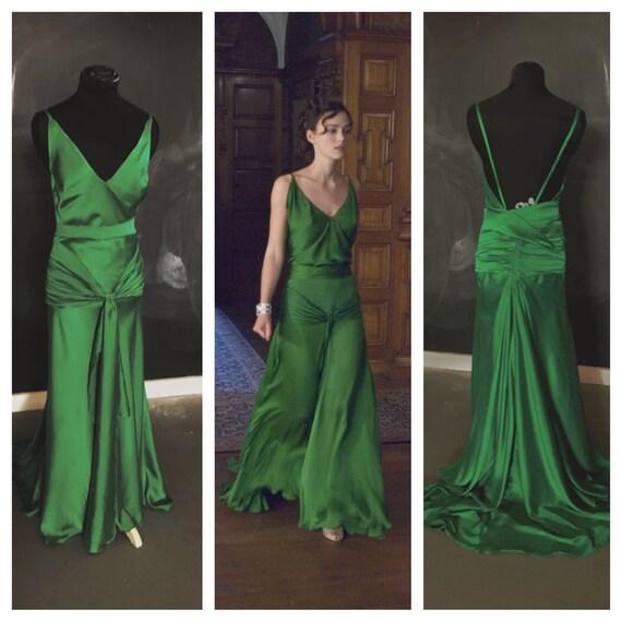 Atonement Green Dress