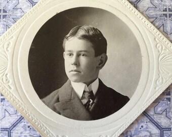 Edwardian Era Photograph of Handsome Boy
