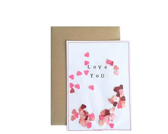 Love you I Ansichtkaart/Postcard