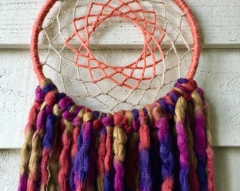 Warm and Earthy Bohemian Dream Catcher
