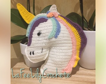 Small Unicorn cushion