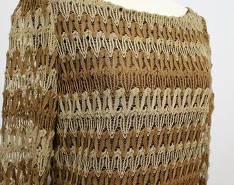 60's/70's Vintage Knit Dress
