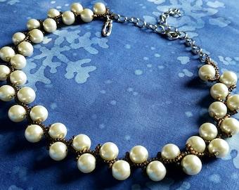 Power Pearls:  Pearl Vine Choker