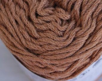Warm Brown - Colourgrown Cotton - Certified Fair Trade & Organic 50g/1.76oz