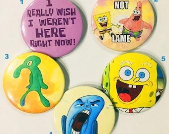 Spongebob Squarepants Pins