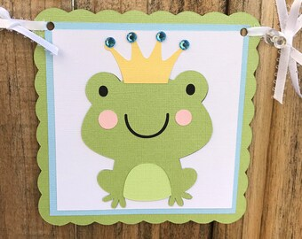 Prince Charming Baby Banner