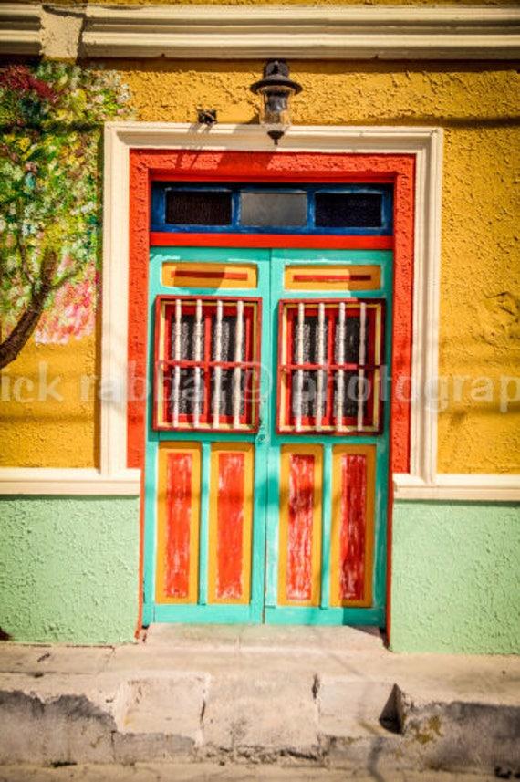 ?zoom & Mexican Door Photo Fine Art Photography Cancun Mexico Isla