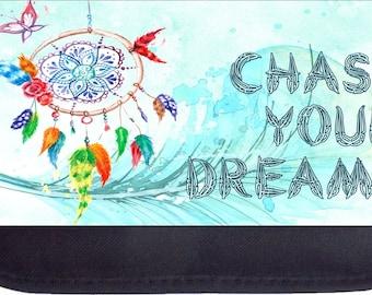 Chase Your Dreams Black Pencil Bag - Pencil Case