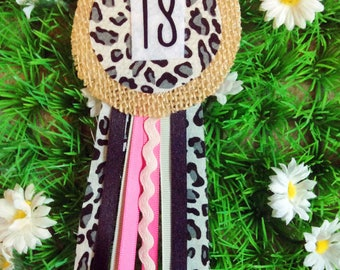 18th Birthday Ribbon Corsage Badge