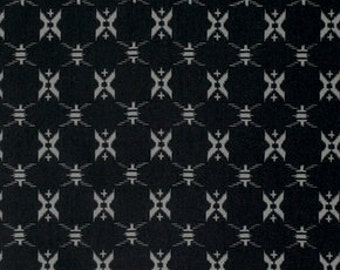 "End of Bolt 1 yard 20.5"" of Katagami Pacific Black Sea by Parson Gray for Free Spirit"