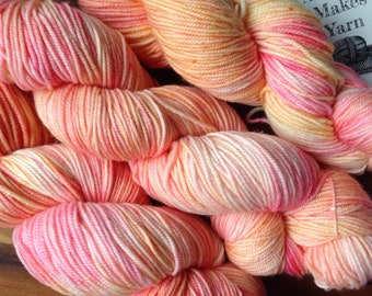 Baby Line Sport - Beachy Pink- Superwash Merino - Sport Weight - Baby Yarn - 100g