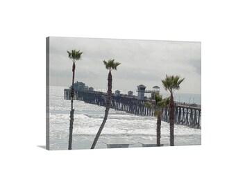 Oceanside Pier, San Diego Art, California Beach Photograph, Oceanside Picture, San Diego Picture, San Diego Beach Picture, San Diego Gift
