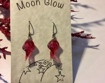 Raspberry Swirl Earrings