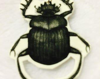 Earring Scarab Beetle