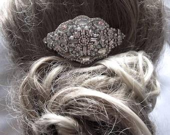 Wedding Vintage Inspired Bridal Crystal Side Hair Comb