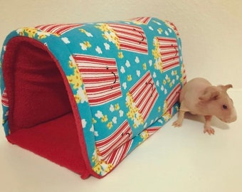 Size small piggy PopUp tunnel Hideout For Small pets
