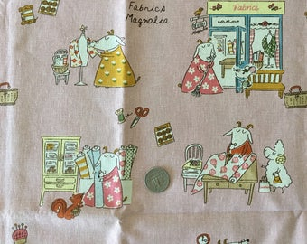 Crafty SHEEP Fabric Magnolia 1FQ (Pink)