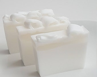 Coconut Soap, Coconut Glycerin Soap, Handmade Coconut Soap