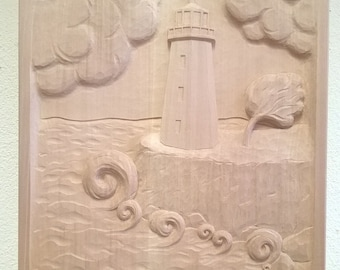 """Relief """"Lighthouse / Lighthouse"""""""