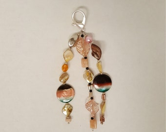 Handmade Purse Charm or Keychain