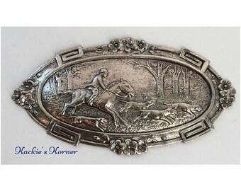 Horse and Hound Medallion #37