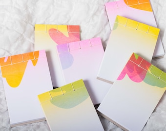 A6 tear-off notepad with designs